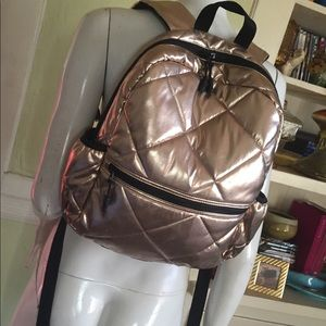 Mossimo metallic backpack